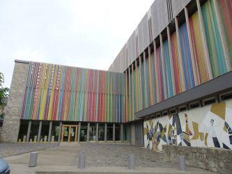 Photographie de l'oeuvre -, de Prassinos. Nature de l'intervention: Retrait des graffitis.