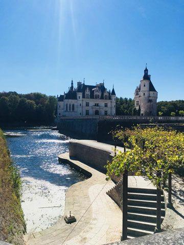 Photographie du château de Chenonceau, un des châteaux de la Loire en région Centre Val-de-Loire